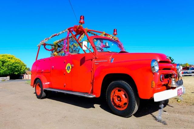 Lions Fire Truck